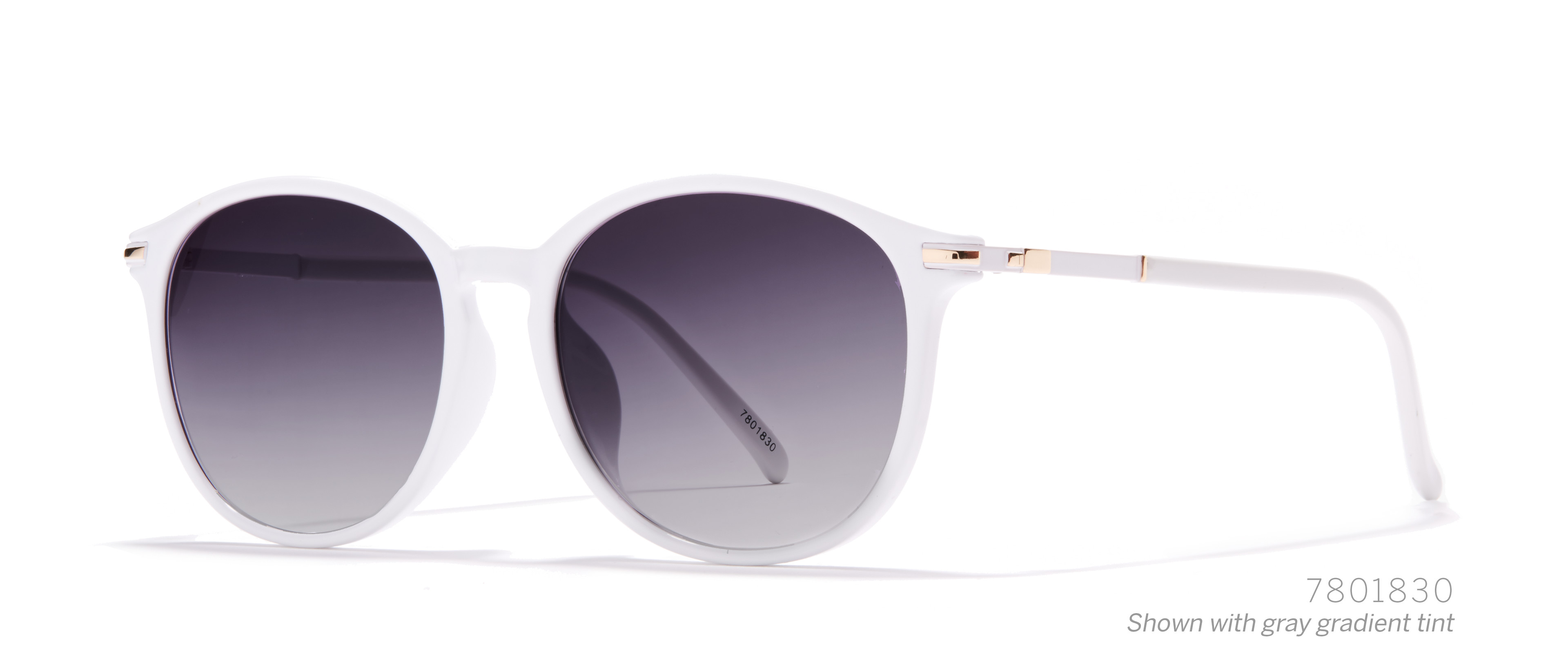 round white eyeglasses