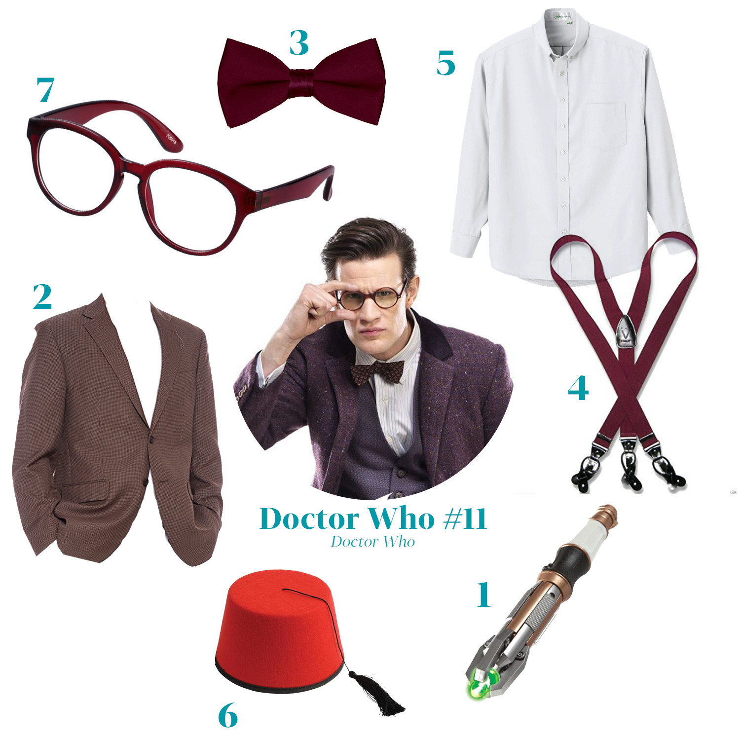 eleventh doctor who costume