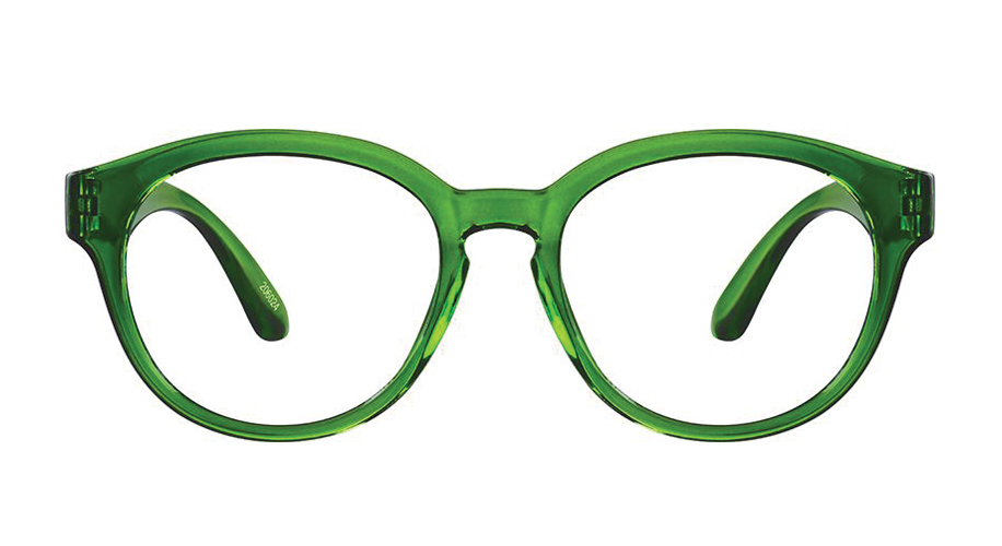15f8b6df47 Green Round Glasses  206024