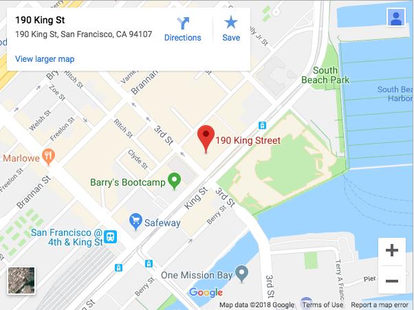 190 king street google map screenshot