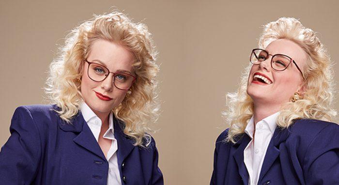 1980s vintage inspired eyewear