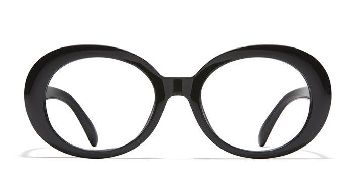women vintage oval frames