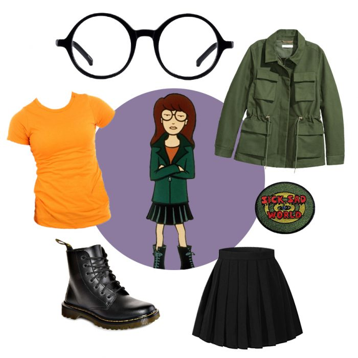 Daria costume ideas for halloween