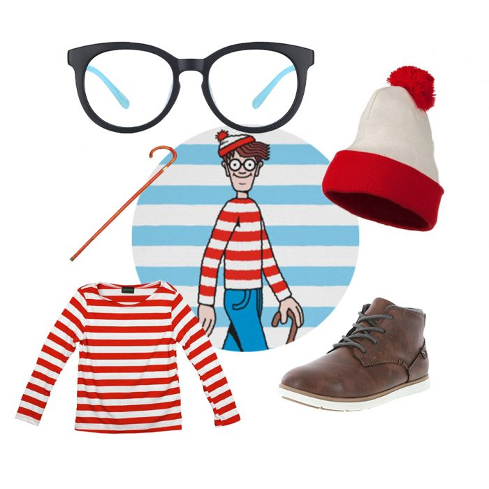 Where's Waldo Costume Ideas