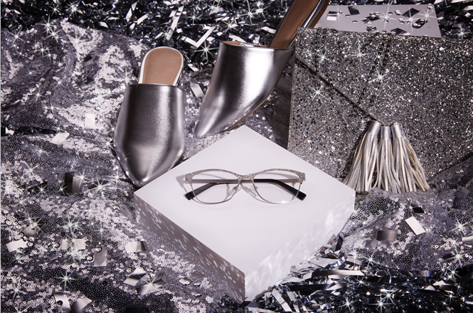 silver zenni frames and shoes