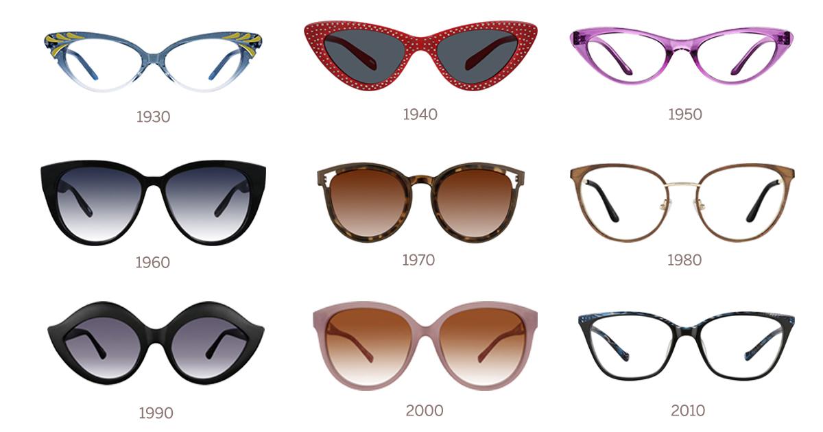 c988d20f4e History of the Cat-Eye Glasses