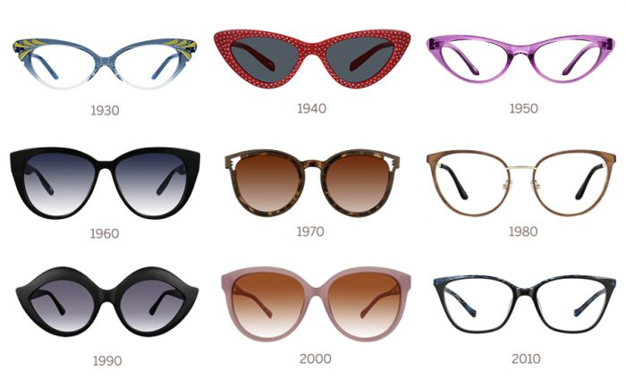 196bce32aa Cat-eye glasses are one style that has stood the test of time. Nearly a  century old