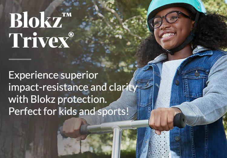 Zenni Blokz for Children with Trivex Lenses